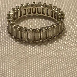 Joseph Esposito 925 CZ Ring Size 6